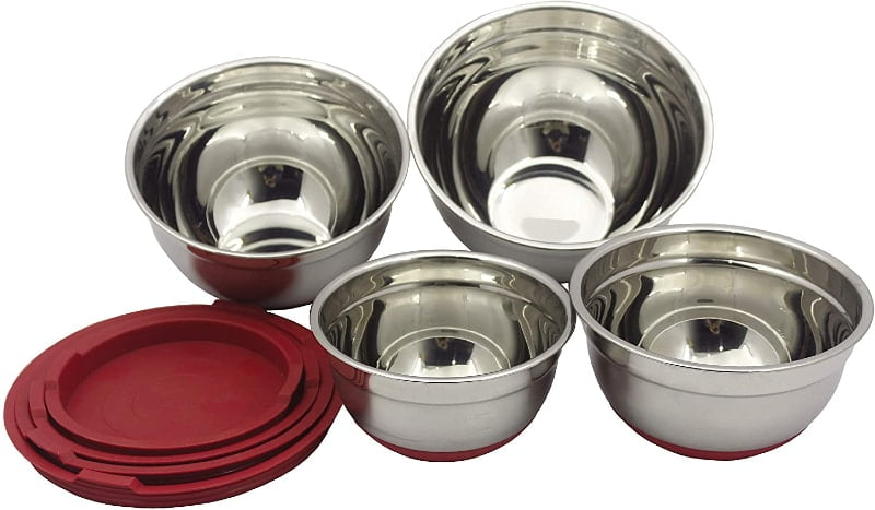 Stainless Steel Mixing Bowls Set of 4